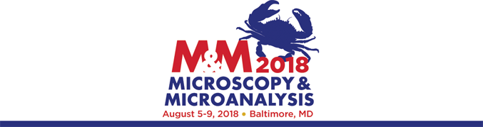 Visit EDAX booth #530 at Microscopy & Microanalysis (M&M) 2018 in Baltimore, MD from August 5-9, 2018.