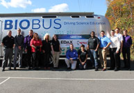 EDAX and SPECTRO sponsored a BioBus Education Enrichment Program at Ramsey Middle School.