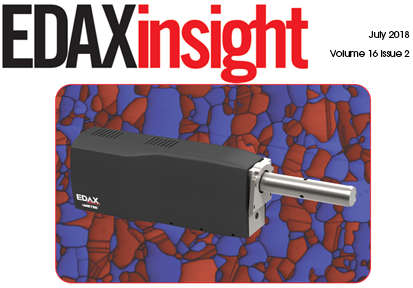 Download your free copy of the July 2018 issue of the EDAX Insight newsletter.
