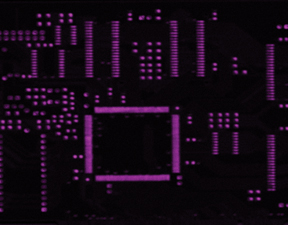 Printed circuit board - Pb(L) X-ray map